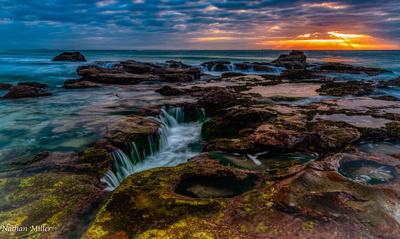 ocean cascade