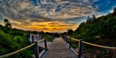 Berry Beach Boardwalk